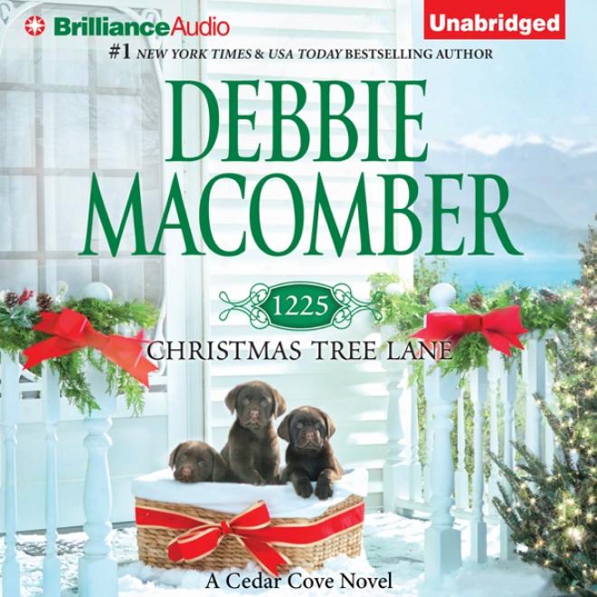1225 Christmas Tree Lane: Cedar Cove, Boom 12 (unabridged)