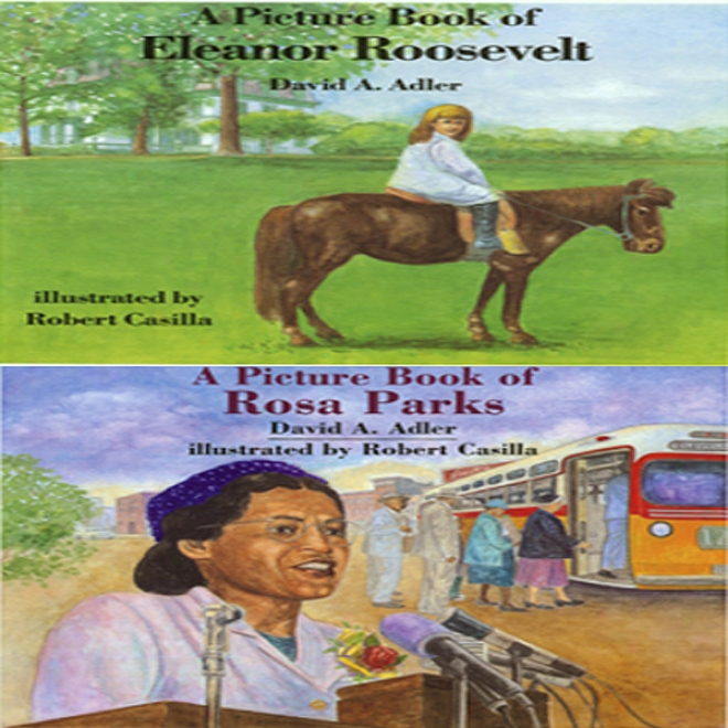 'a Boom Of Eleanor Roosevelt' An d'a Book Of Rosa Parks' (unahridged)