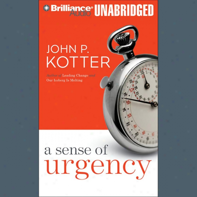 A Sense Of Urgency (unabridged)