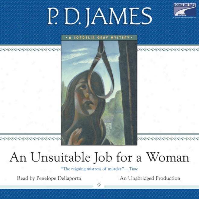 One Unsuitable Job For A Woman (unabridged)