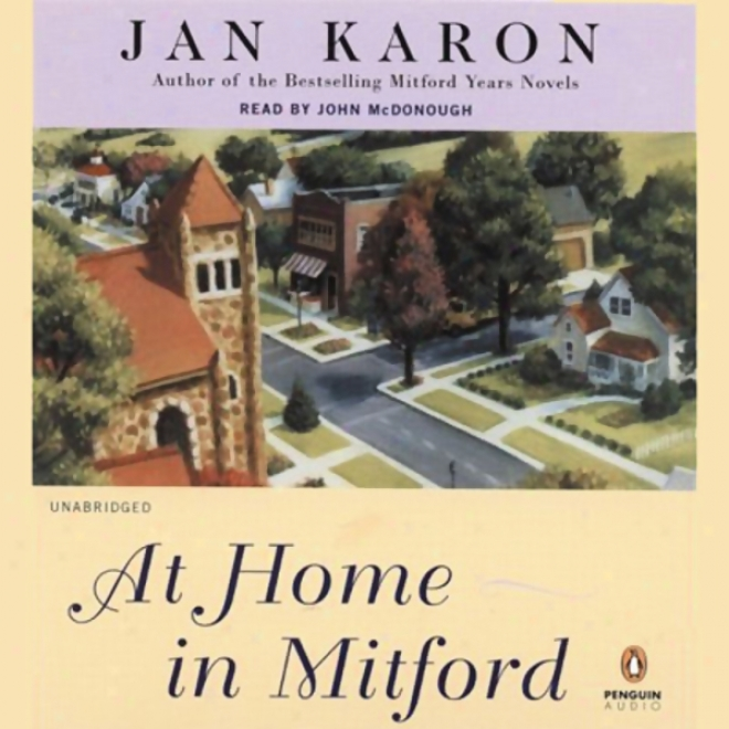 At Home In Mitford: The Mitford Years, Book 1 (unabridbed)