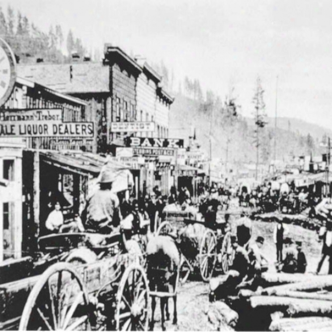 Audio Journeys: The Wild West Town Of Deadwood, South Dakota