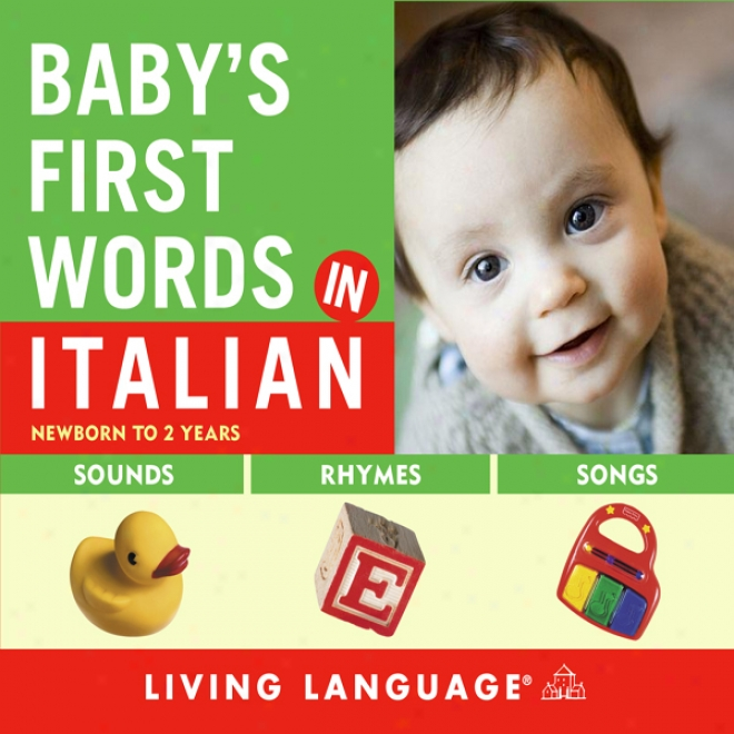 Bsby's First Words In Italian