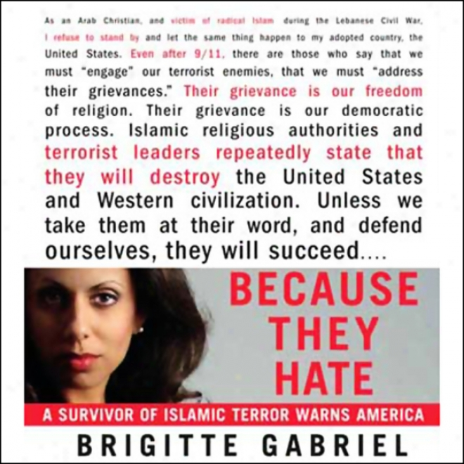 Because They Hate: A Survi\/or Of Islamic Terror Warns America (unabriddged)