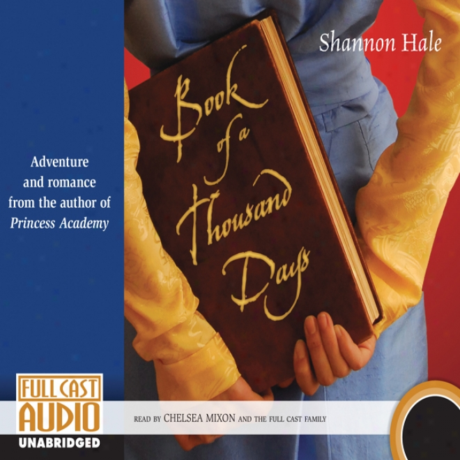 Book Of A Thousand Days (unabridged)