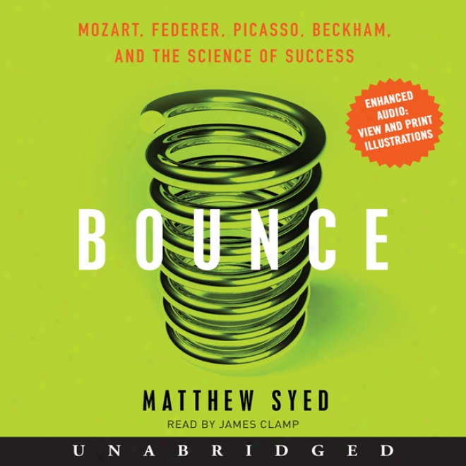 Bounce: Mozart, Federer, Picasso, Beckham, And The Science Of Success (unabridged)