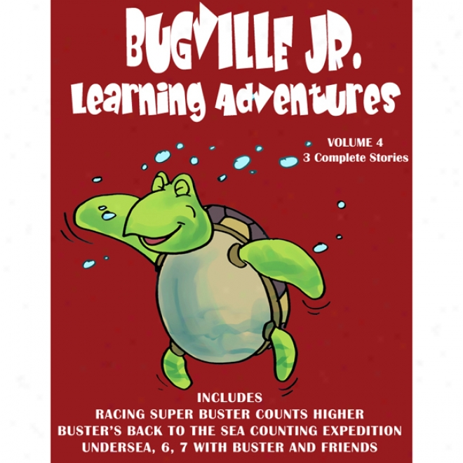 Bugville Jr. Learning Adventures Collection #4 (unabridged)
