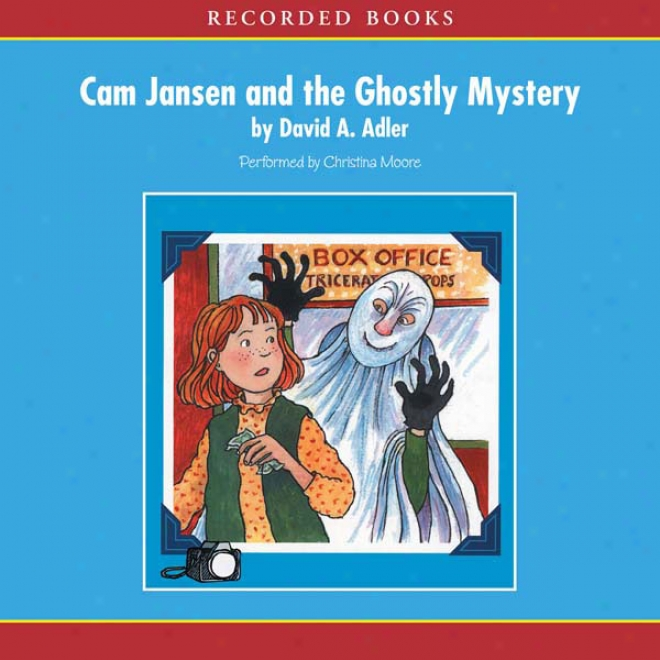 Cam Jansen: The Ghostly Mystery #16 (unabridged)