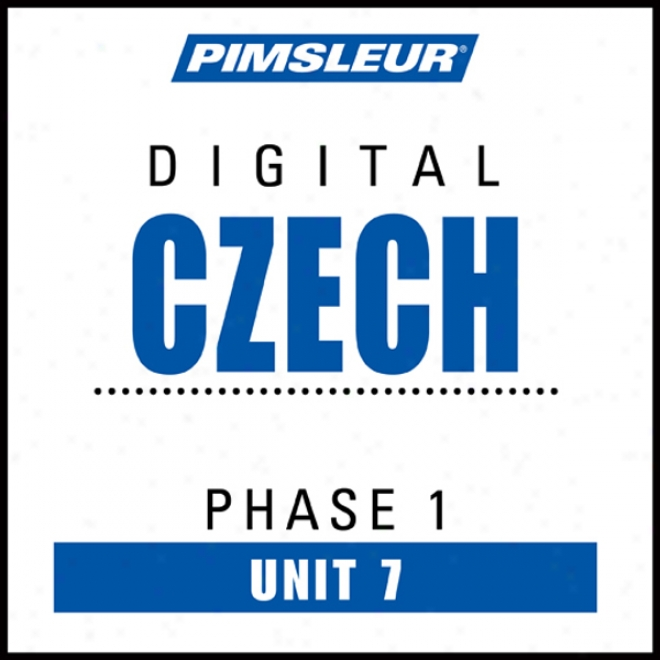 Czech Phase 1, Unit 07: Learn To Speak And Understand Czech With Pimsleur Language Programs