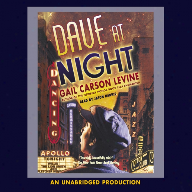 Dave At Night (unabridged)