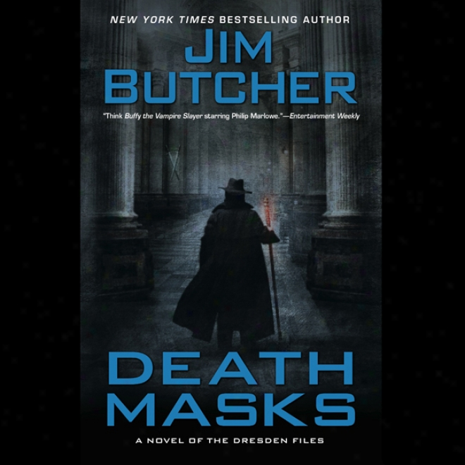 Death Masks: The Dresden Files, Book 5 (unabridged)