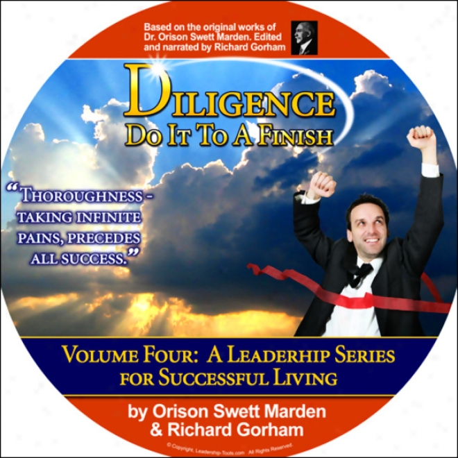 Diligence: Do It To A Finish (unabridged)