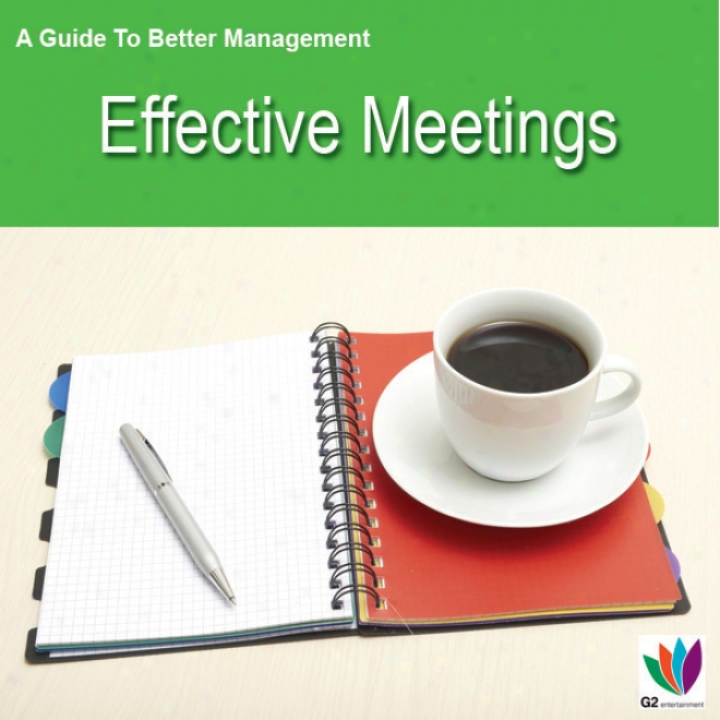 Effective Meetings: A Guide To Better Management (unabridged)