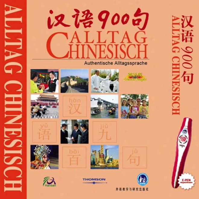 Everyday Chinese For German Speakers (unabridged)