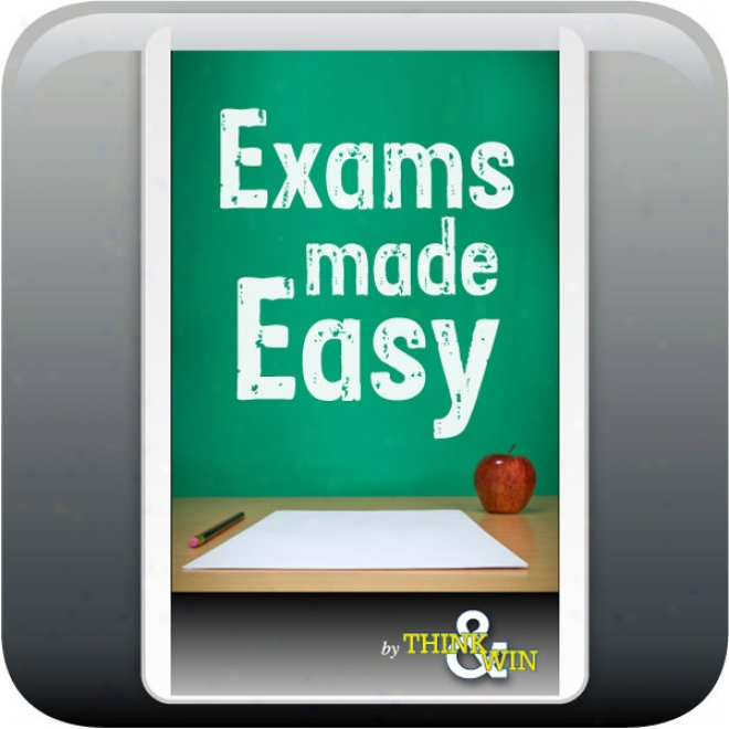 Exams Made Easy: Mind Traniing Program (unabridged)