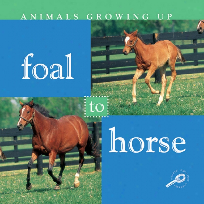 Foal To Horse (unabridged)
