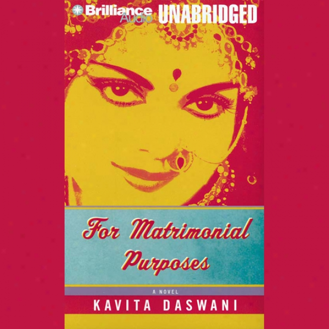 For Matrimonial Purposes (unabridged)