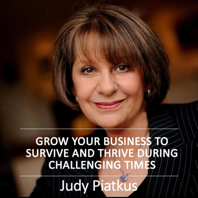 Grow Your Business To Survive And Thrive During Challenging Times (unabridged)