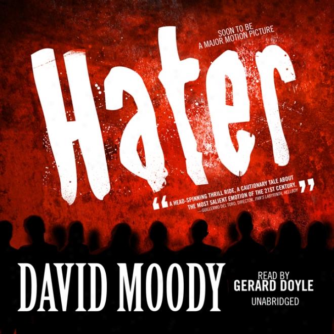 Hater (unabridged)