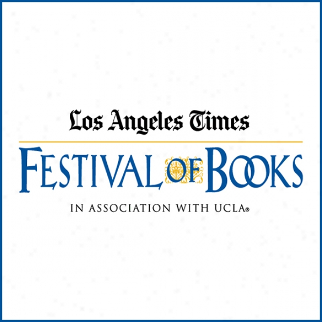 James Ellroy Attending An Introduction By Patt Morrison (2009): Los Angeles Times Festival Of Books