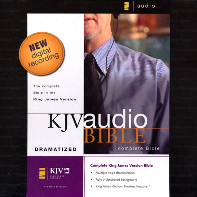 Kjv Complete Bible Dramatized Audio (unabridged)