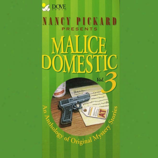 Malice Domestic 3: An Anthology Of Original Mysyery Stories (unabridgdd)