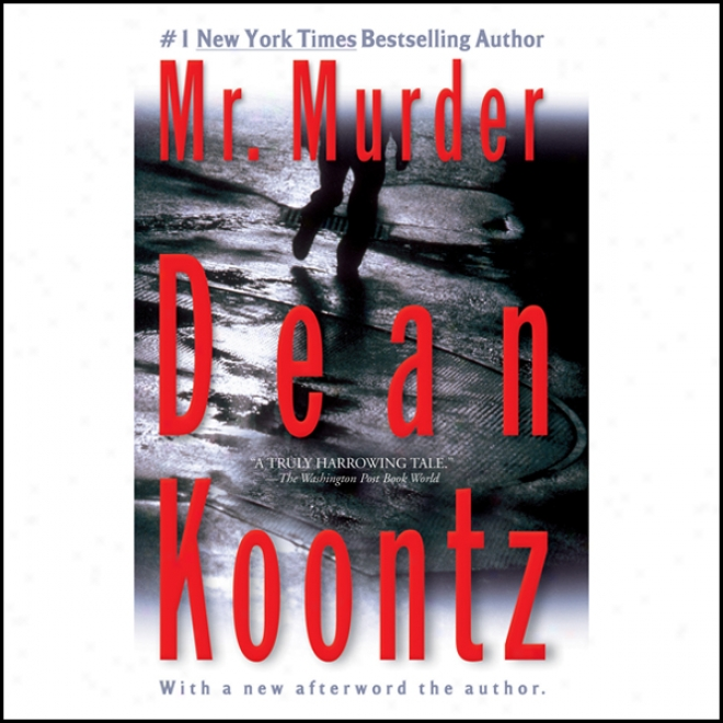 an overview of mr murder novel by dean koontz Dean koontz's best-selling novel is brought to tv in this 4 hour mini-series after the death of his wife and daughter in a plane crash, a newspaper reporter discovers that cast overview, first billed only: stephen baldwin  marty stillwater / alfie also known as: dean koontz's mr murder see more .