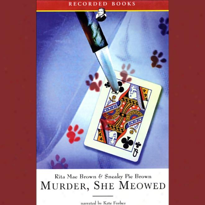 Murder She Meowed (unabridged)