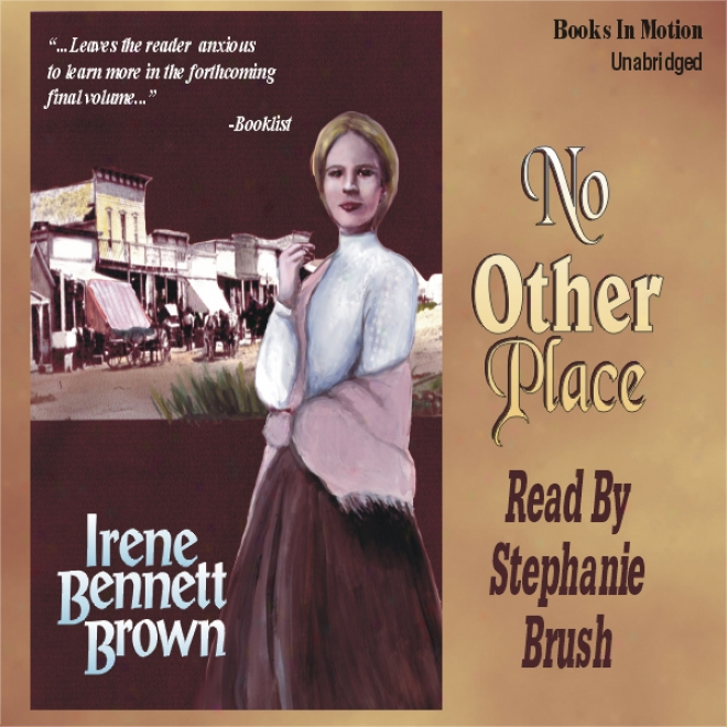 No Other Town: Women Of Paragon Springs, Book 3 (unabridged)