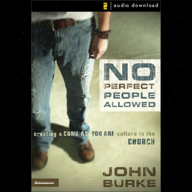 No Perfect People Allowed (unabridged)