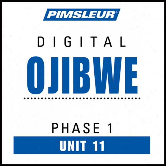 Ojibwe Phase 1, Unit 11: Learn To Speak And Understand Ojibwe With Pimsleur Language Programs