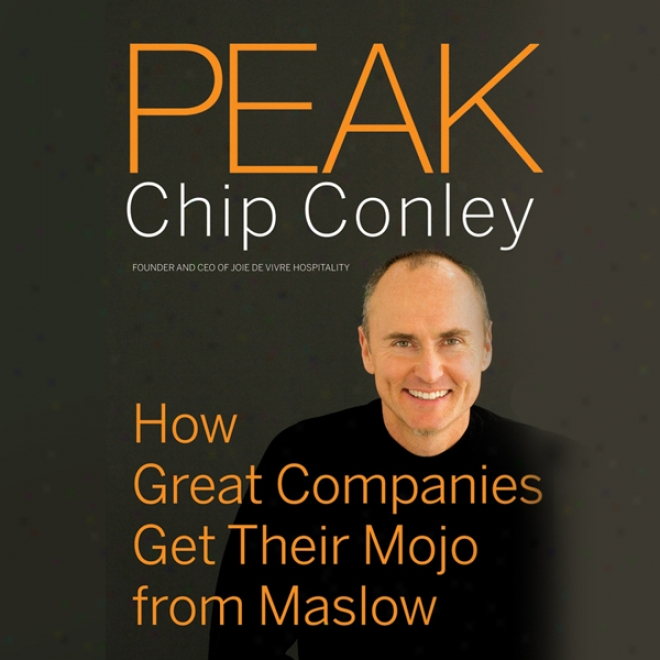 Peak: How Gfeat Companies Get Their Mojo From Maslow (unabridged)