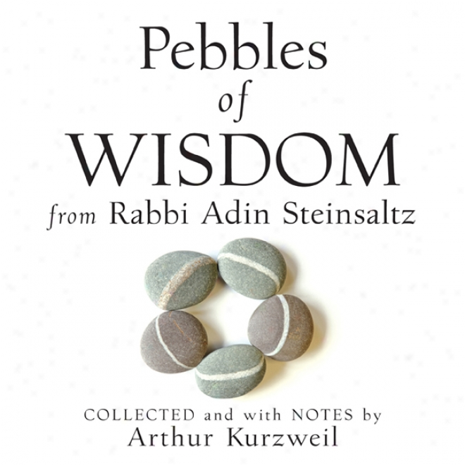 Pebbles Of Wisdom From Rabbi Adin Steinsaltz: Collected And With Notes By Arthur Kurzweil (unabridged)