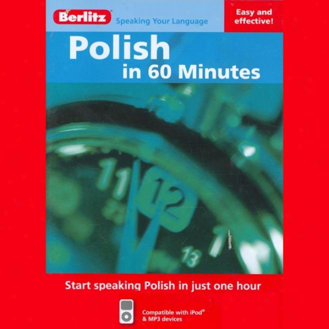 Polish In 60 Minutes (unabridged)