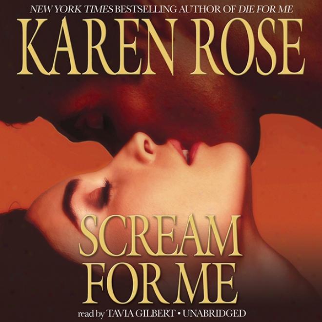 Scream For Me (unabridged)