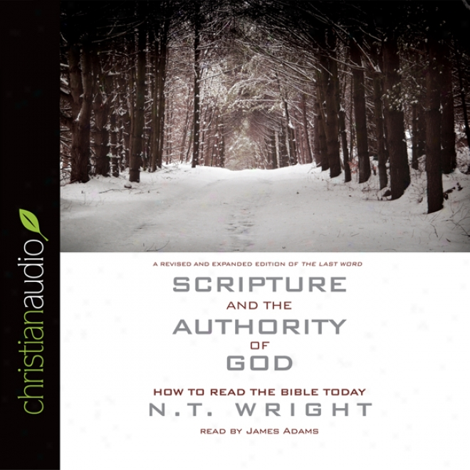 Scripture And Tye Authority Of God: How To Read The Bible Today (unabridged)