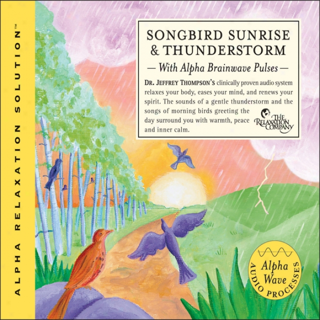 Songbird Sunrise And Thunderstork