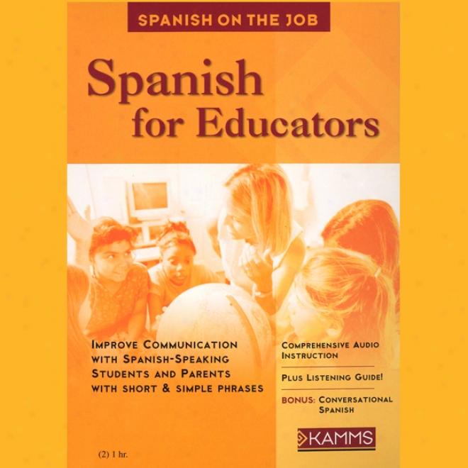 Spanish For Educators (unabridged)