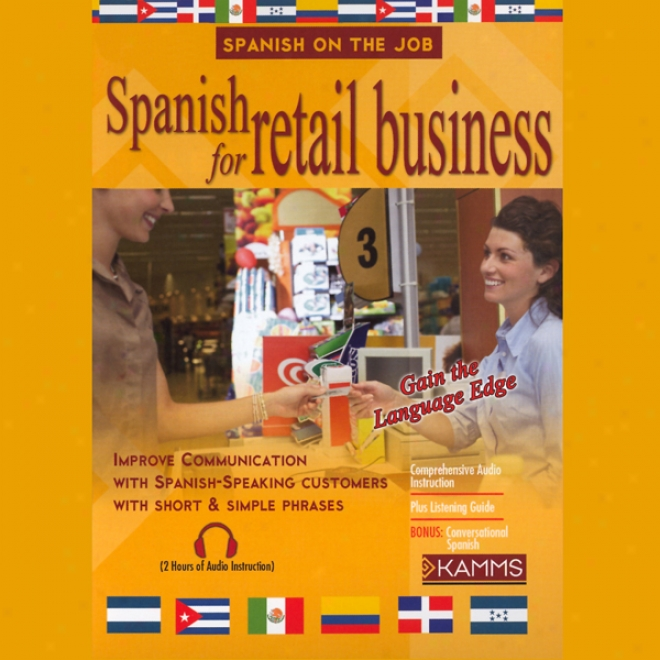 Spanizh For Regail Business (unabridged)