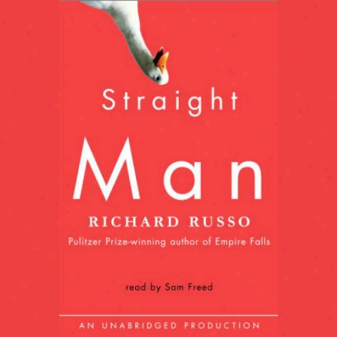 Straight Man (unabridged)