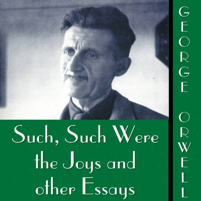 Such, Such Were The Joys And Other Essays (unabridged)