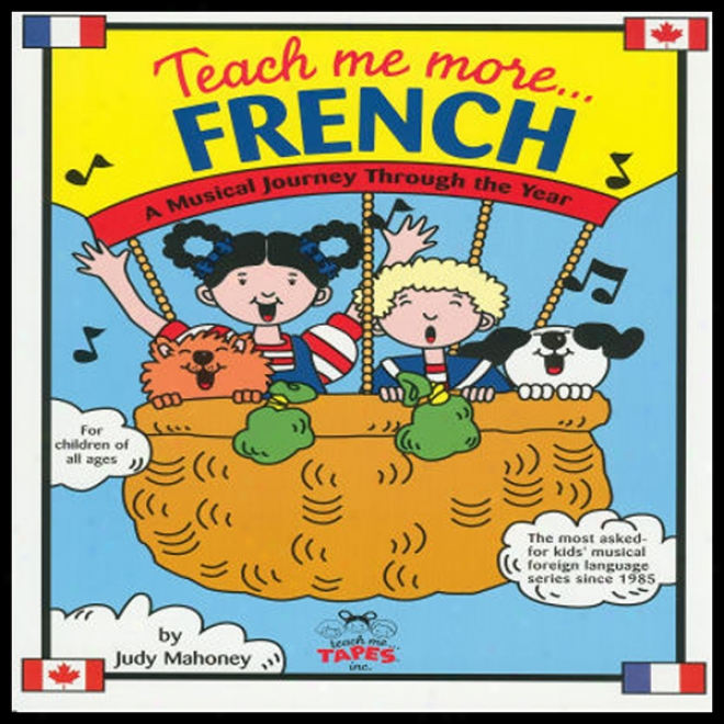 Teach Me More French (unabridged)