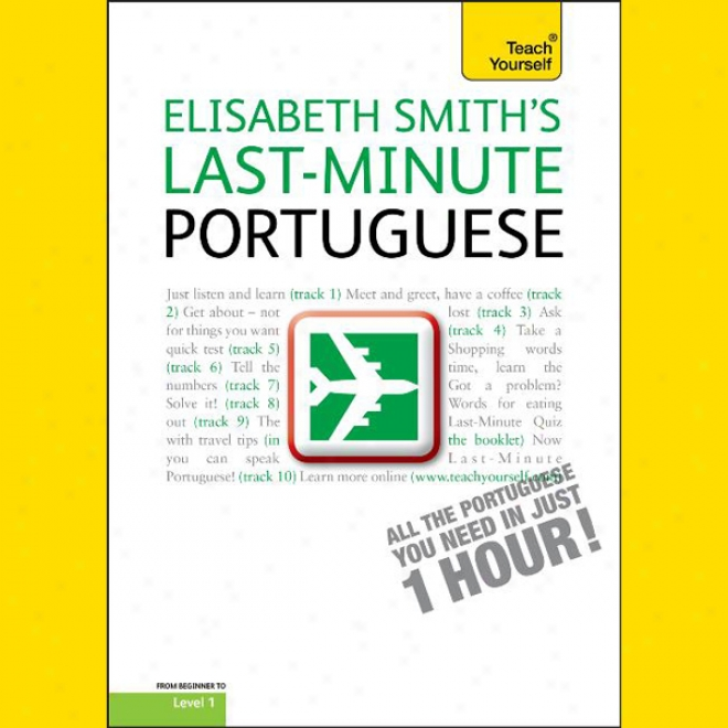 Teach Yourself One-day Portuguese (unabridged)