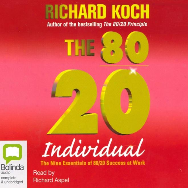 The 80/20 Individual (unabridged)