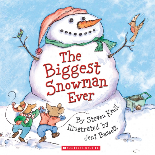 The Biggest Snowman Ever (unabridged)