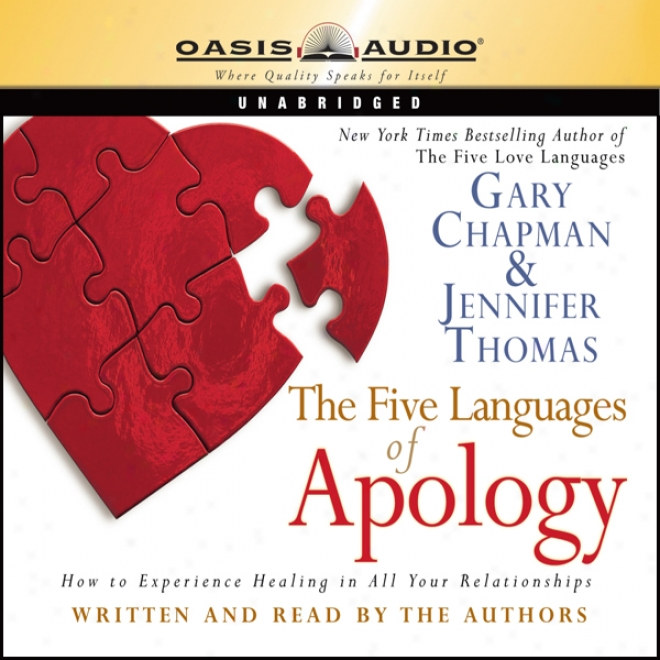The Five Languages Of Apology (unabridged)