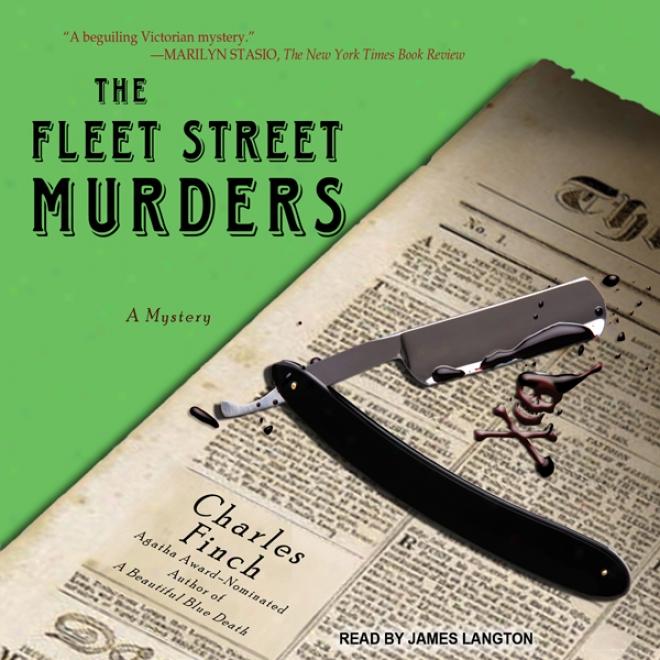 The Fleet Street Mirders: Charles Lenox Mysteries Series #3 (unabridged)