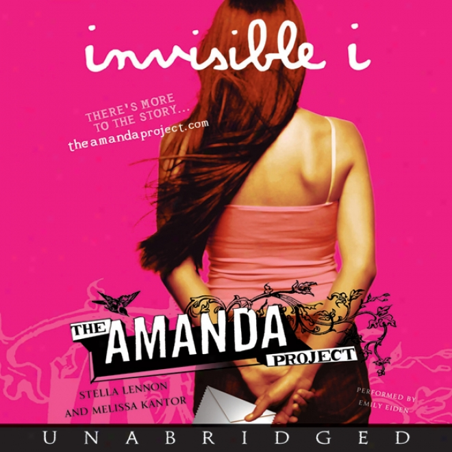 The Invieible I: Amanda Project: Boom 1 (unabridged)