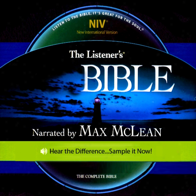 The Listener's Bible Niv: The Complete Bible, Genesis To Revelation (unabridged)