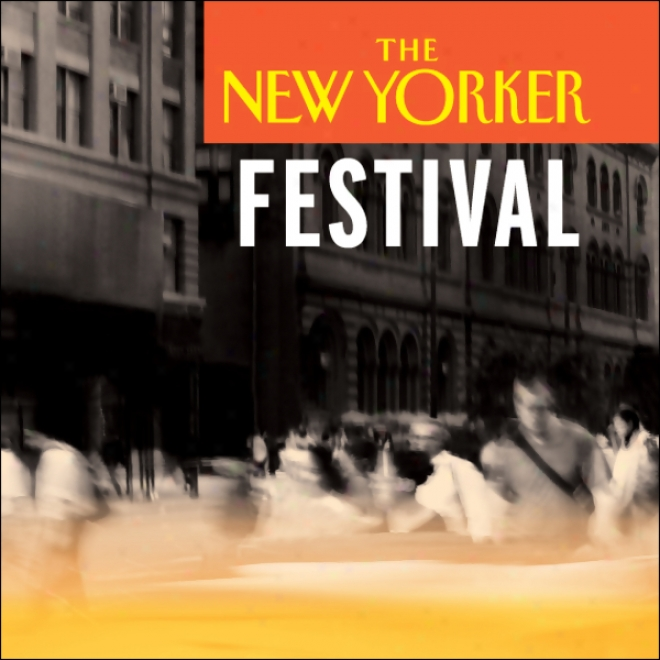The New Yorker Festival - Chang-rae Lee And Lorrie Moore